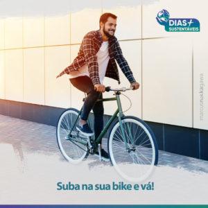 Suba na sua bike e vá!