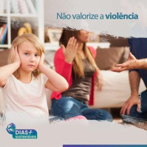 Não valorize a violência